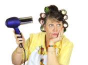 Is blow-drying bad for your hair?