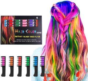 Hair Chalks hair dye combs