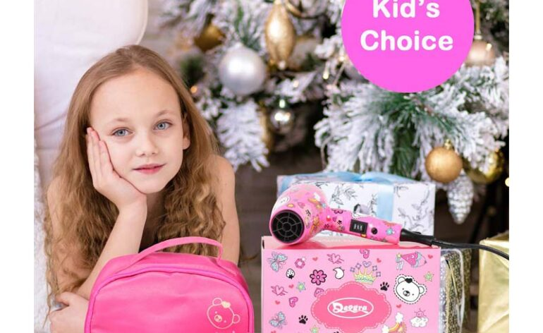 Deogra-kids-hair-dryer-pink